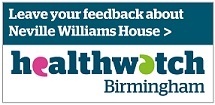 Leave your feedback on Healthwatch Birmingham